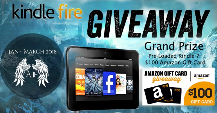 Kindle Fire Giveaway(Jan 2018)